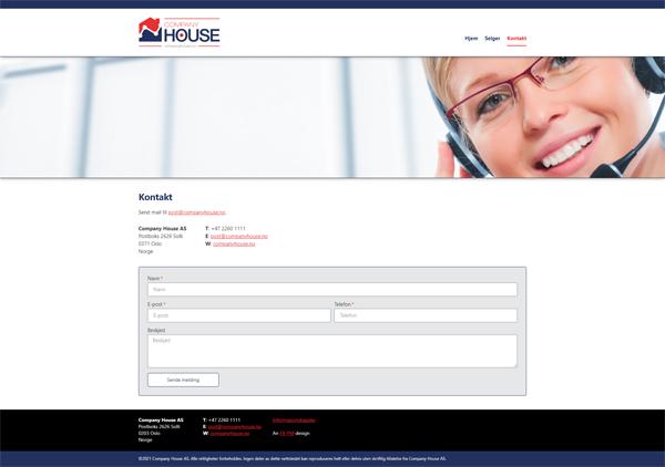 companyhouse.no Screenshot 3