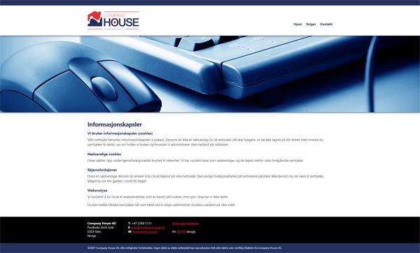 companyhouse.no Screenshot 4